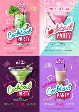 Банеры коктейльные вечеринки